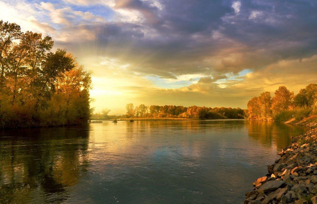 autumn, landscape, nature